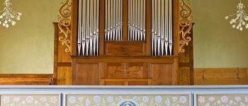Concert d\orgue à Haegen par Claude Roser dans le cadre du stage d\été Haegen