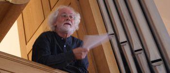 Concert d\orgue à l\église protestante de Bouxwiller par Jan Willem Jansen dans le cadre du stage d\été Saessolsheim