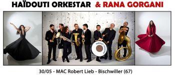 Haïdouti Orkestar & Rana Gorgani à la MAC Robert Lieb - Bischwiller (57) Bischwiller