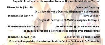 Les heures musicales autour de l\orgue de Rumilly-les-Vaudes Rumilly-lès-Vaudes