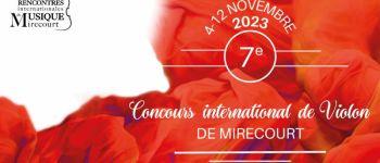 CONCOURS INTERNATIONAL DE VIOLON Mirecourt