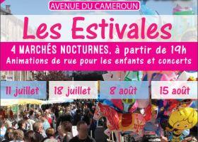 LES ESTIVALES - MARCHÉ NOCTURNE Bruyères