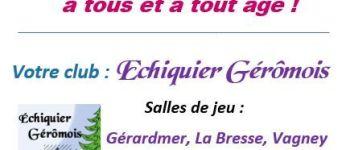 JOURNÉE MONDIALE DU JEU D\ÉCHECS La Bresse