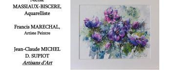 LA GALERIE DE L\ABBAYE PRÉSENTE NICOLE MASSIAUX-BISCERE Beaulieu-en-Argonne
