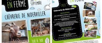 PORTES OUVERTES A LA CHEVRERIE Niderviller
