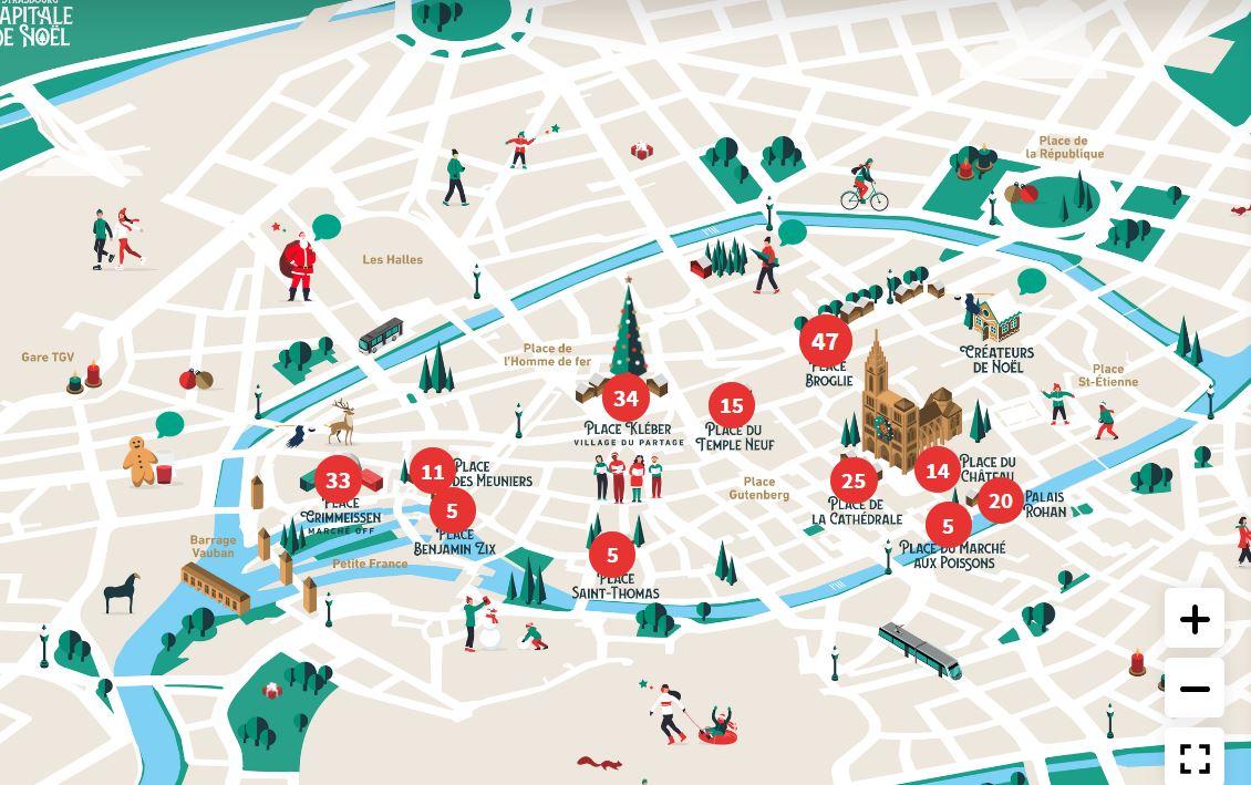 Retrouvez les artisans du marché de Noël de Strasbourg